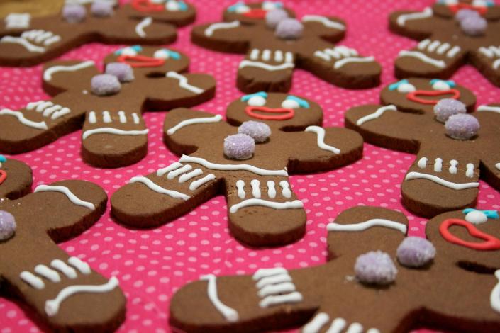 Galletas decoradas para regalar en navidad